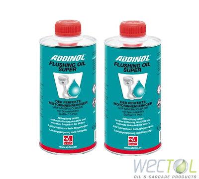 2 x 0,5 Liter ADDINOL Flushing Oil Super Motorinnenreiniger / Motorspülung 1L ()