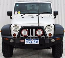 2009 Jeep Wrangler  White Manual Softtop Embleton Bayswater Area Preview