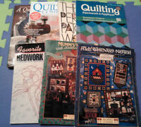 Quilting books (7 for $20)