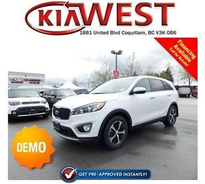 DEMO 2017 Kia Sorento EX 3.3L V6 GDI Engine AWD