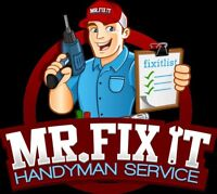 EXPERT Handyman Servies A-Z  30 years experience