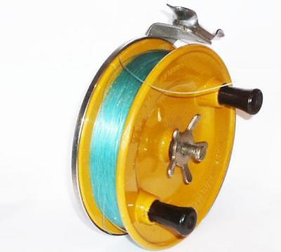 VINTAGE CHARLES ALVEY 505-A52 FISHING REEL DIRECT WIND FIBRE GLASS SPOOL