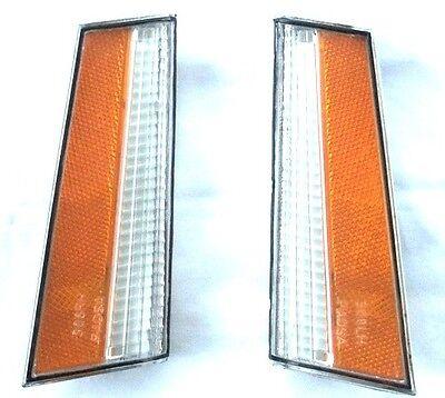 78-79 Malibu El Camino Front Turn Signal Header Panel Side Marker Light Lens PR ()