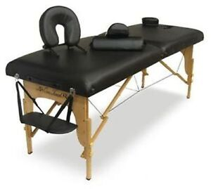 "massage table for sale / sierra comfort massage table 3"" NEW"