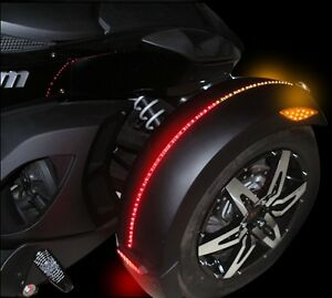 STREET MAGIC DUAL COLOR MAGICFLEX SPYDER CAN AM TURN SIGNAL LIGHTS