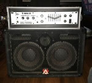 Peavey T-Max Bass Head and Cabinet 2X10