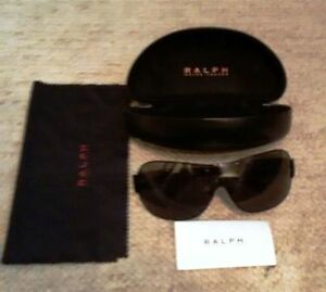 Ralph Lauren Wide Frame Men's Wrap Sunglasses