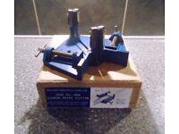 VINTAGE WILLIAM MARPLES 6808 2 inch MITRE CUTTER AND CORNER CLAMP IN ORIGINAL BOX