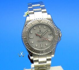Rolex Yachtmaster 35mm Ladies 2014 Immaculate with box and papers