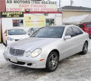 ON SALE NOW!!   2004 MERCEDES BENZ E500 4MATIC AMG PACKAGE..