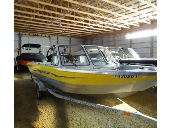 Used 2007 Harbercraft 1875 Whitewater JMax
