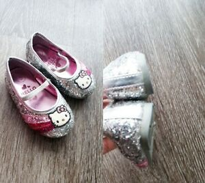 HELLO KITTY GLITTER SHOES - SZ 5