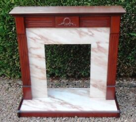 LOVELY FIREPLACE SURROUND - MUST BE SOLD !