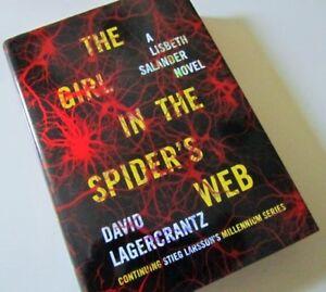 ^The GIRL in the SPIDER'S WEB^  A Lisbeth Salander Novel