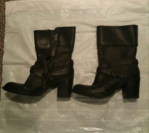 2 pairs Black Boots