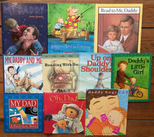 DADDY AND ME children's picture books $3 each or all 10 for $25