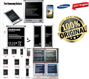 100% ORIGINAL Samsung Batteries S2 S3 S4 S5 NOTE2 NOTE3 NOTE4
