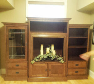 Quality Custom Made One of a kind Solid Maple Media Centre Kitchener / Waterloo Kitchener Area image 1
