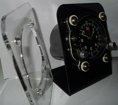 Aircraft clock stand, Russian cockpit IFF,aircraft clocks,clock stands,military