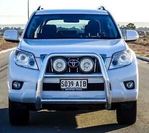 2010 Toyota Landcruiser Prado White Manual Wagon Blair Athol Port Adelaide Area Preview