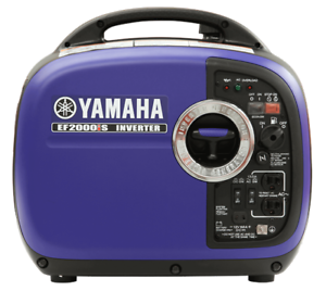 YAMAHA LAVAL : EF2000IS INVERTER .. DATE LIMITE 21 DEC. 2018