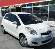 2010 Toyota Yaris NCP90R 10 Upgrade YR 5 Speed Manual Hatchback Cannington Canning Area Preview