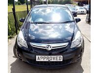 VAUXHALL CORSA 1.4 SE 5d AUTO 98 BHP Apply online and Get APPROVE (black) 2012