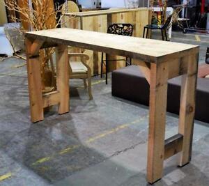 ABP Express - Comptoir Bar /Table Bar Rustique - MÉGA VENTE