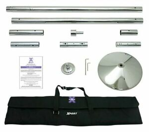 50mm chrome static/ spinning pole