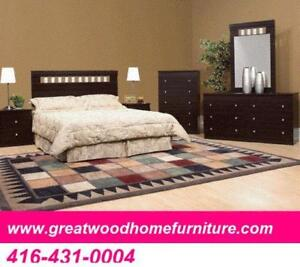 QUEEN SIZE 6 PIECE BEDROOM SET STARTS $499 ONLY