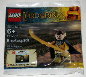 New sealed Lego Elrond 5000202 Lord of the Rings Minifig