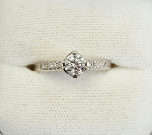 BRAND NEW! Round Brilliant Diamond Engagement Ring