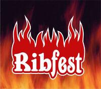 Ribfest Volunteers! Earn Community Hours!