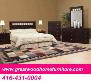 6 PIECE QUEEN BEDROOM SET..BRAND NEW..$499 ONLY