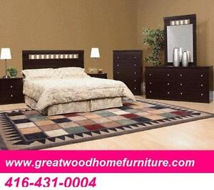 BRAND NEW 6 PIECE BEDROOM SET  $499..CHOICE OF COLORS