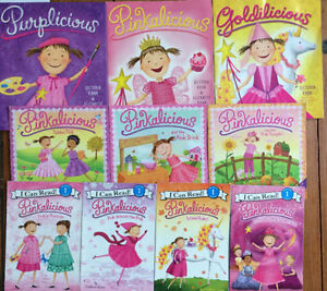 PINKALICIOUS books! $3 each or all 10 for $20 London Ontario image 1