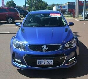 2016 Holden Commodore VF II MY16 SS V Redline Blue 6 Speed Manual Sedan Gosnells Gosnells Area Preview