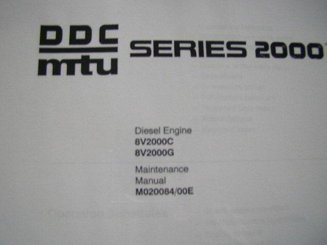 mtu engines workshop manual ebook
