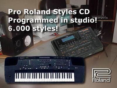 Ballads /& Pop NOUVELLE EDITION 86 STYLES Pour Roland G600 G800 RA800