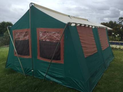 Large family canvas tent in good condition | Miscellaneous Goods | Gumtree Australia Moreland Area - Brunswick | 1178773435 & Large family canvas tent in good condition | Miscellaneous Goods ...