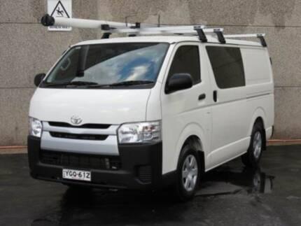 2017 Toyota Hiace Kdh201r Lwb White Manual Van Cars Vans Utes Gumtree Australia Bankstown Area Revesby 1178805350
