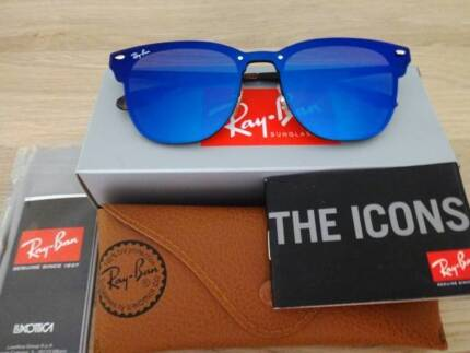 NEW RAY BAN BLAZE CLUBMASTER BLUE MIRROR LENS RB3576N   Accessories    Gumtree Australia Queensland - Brisbane Region   1180779382 d496a6cbe2