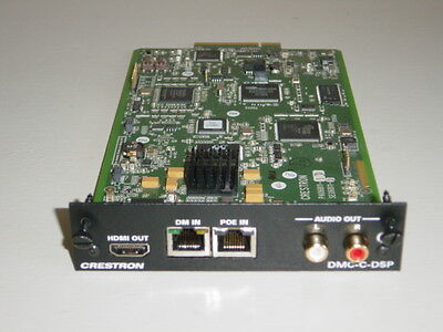Crestron DMC-C-DSP 8G+ remote room input card for DM switchers.