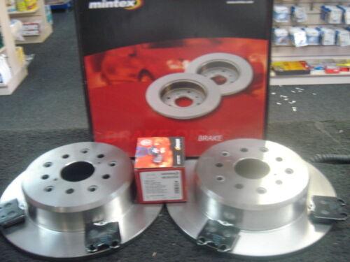 LEXUS IS200 IS300 GS300 REAR MINTEX BRAKE DISCS & PADS