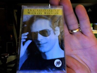 Michael Bolton- The Artistry of Michael Bolotin- new/sealed cassette tape