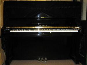 Yamaha u3 piano ebay for Yamaha upright piano cover