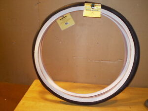 Schwinn Approved 26x1 3/4 Westwind S-7 Middleweight Bicycle White Wall Tires