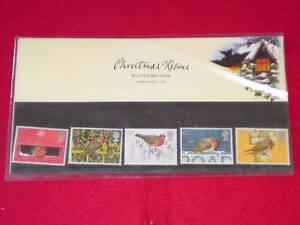 ROYAL-MAIL-STAMP-SET-Christmas-Robins-MINT