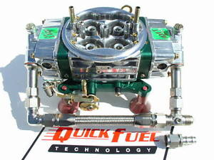 NEW-QUICK-FUEL-850-CFM-E-85-CARBURETOR-Q-850-E85-34-8000-SS-LINE-KIT