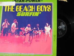 BEACH-BOYS-lp-SURFIN-STAR-POWER-GERMANY-RARE-IMPORT-GERMAN-INTERCORD